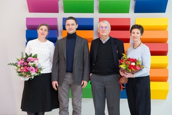 Manfred Kets de Vries visited the campus of SKOLKOVO Business School, where he received a Certificate of Recognition